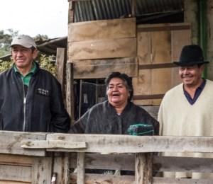 Habitantes de veredas de Bogotá