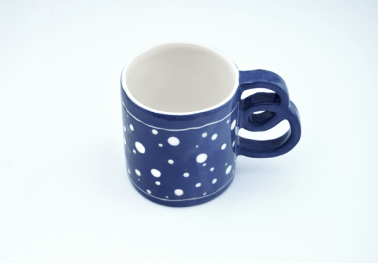 Blue Electric Mug