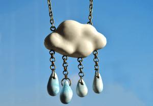 Colgante Nube Azul