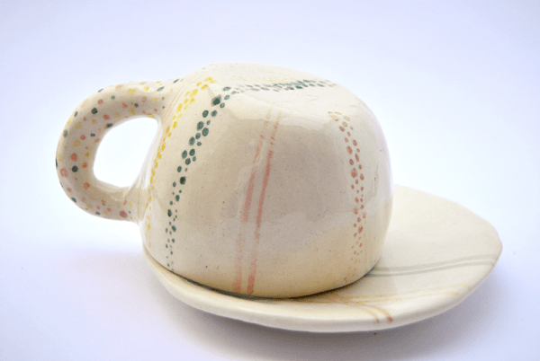 Rustic Handmade Coffe or Tea Cup