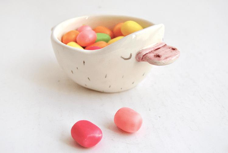 Cuenco Ceramica Ornitorrinco