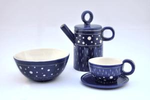 Colección Lola de juego de café y bol