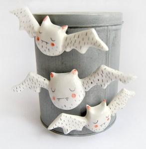 Vampiros imán de cerámica