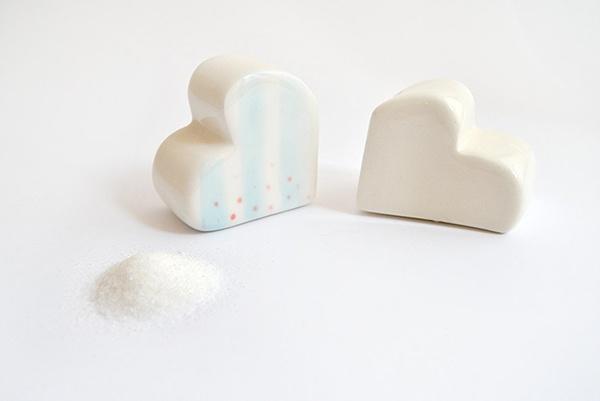 Salero y pimentero nube