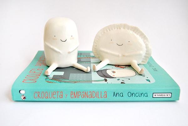 Croqueta y emapandilla de Ana Oncina.