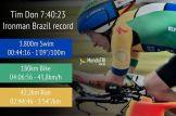 Tim Don breaks world record.