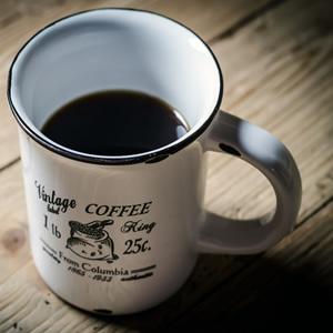 A mug of fine roasted coffee