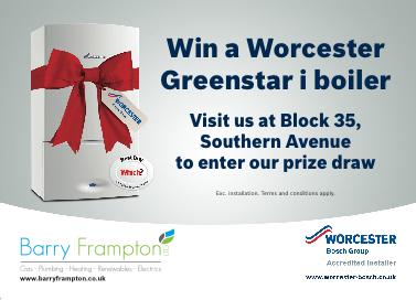 Win a Worcester Grecnstar i boiler