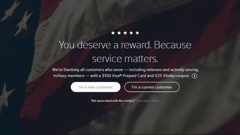 How to actually recieve your military discount with Xfinity