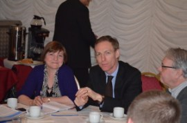 Jim Murphy MP and Sophy Gardner