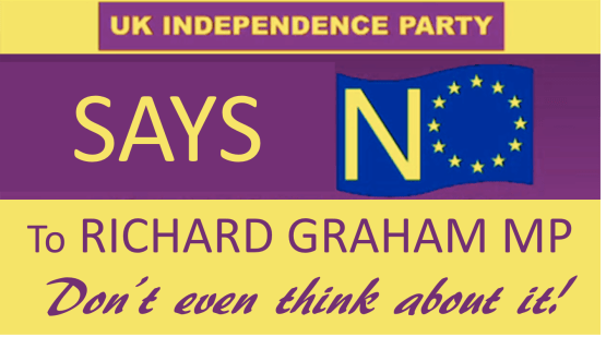 UKIP says no to RG - dont