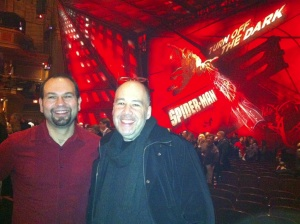 Allen Zadoff and me @ Spidey