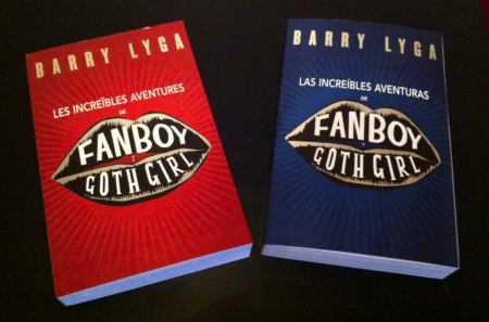 Catalan and Spanish editions of Fanboy