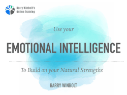 emotional intelligence webinar