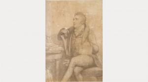 S T Coleridge by George Dawe c.1811-1812 (Wordsworth Trust)