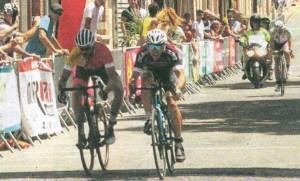 Le sprint victorieux de Yann Toutain