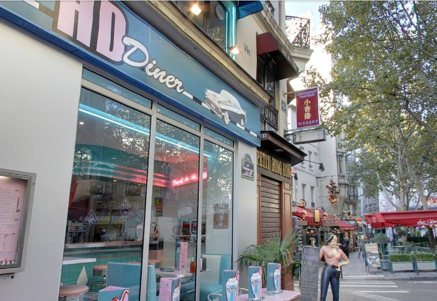 HD Diner St Michel France entrance