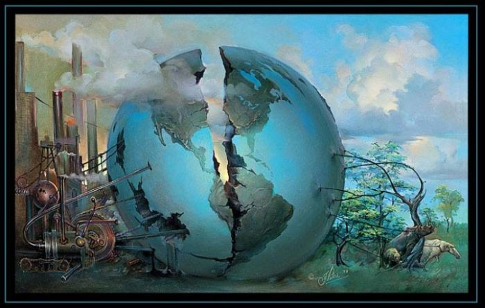 Earths resource raping vs. the Natural World