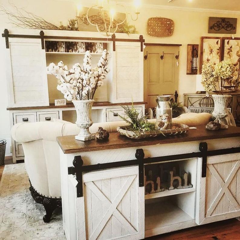 Farmhouse Rustic Living Room Furniture