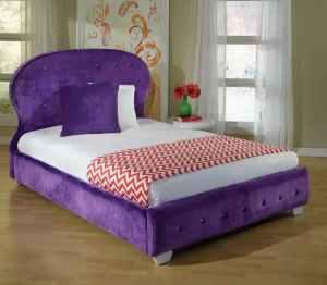FULL – MARILYN PURPLE PLATFORM BED