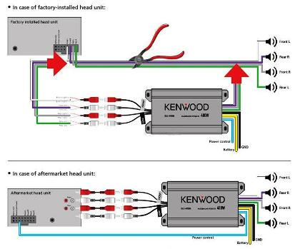 Kenwood KAC-M1804 Installation