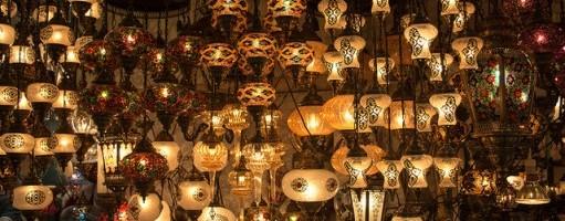 Lampen im Basar