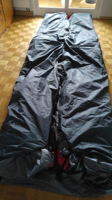 Überdimensionaler Schlafsack