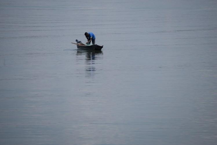 Fischer am Victoriasee