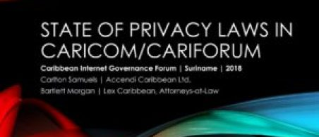 Privacy/Data Protection in CARICOM/CARIFORUM