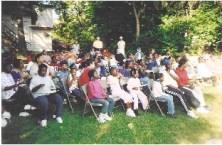 August, 2004 Outreach Crowd - 1
