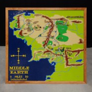 Topographical LEGO Map of Middle Earth   Christoph Bartneck  Ph D  Topographical LEGO Map of Middle Earth