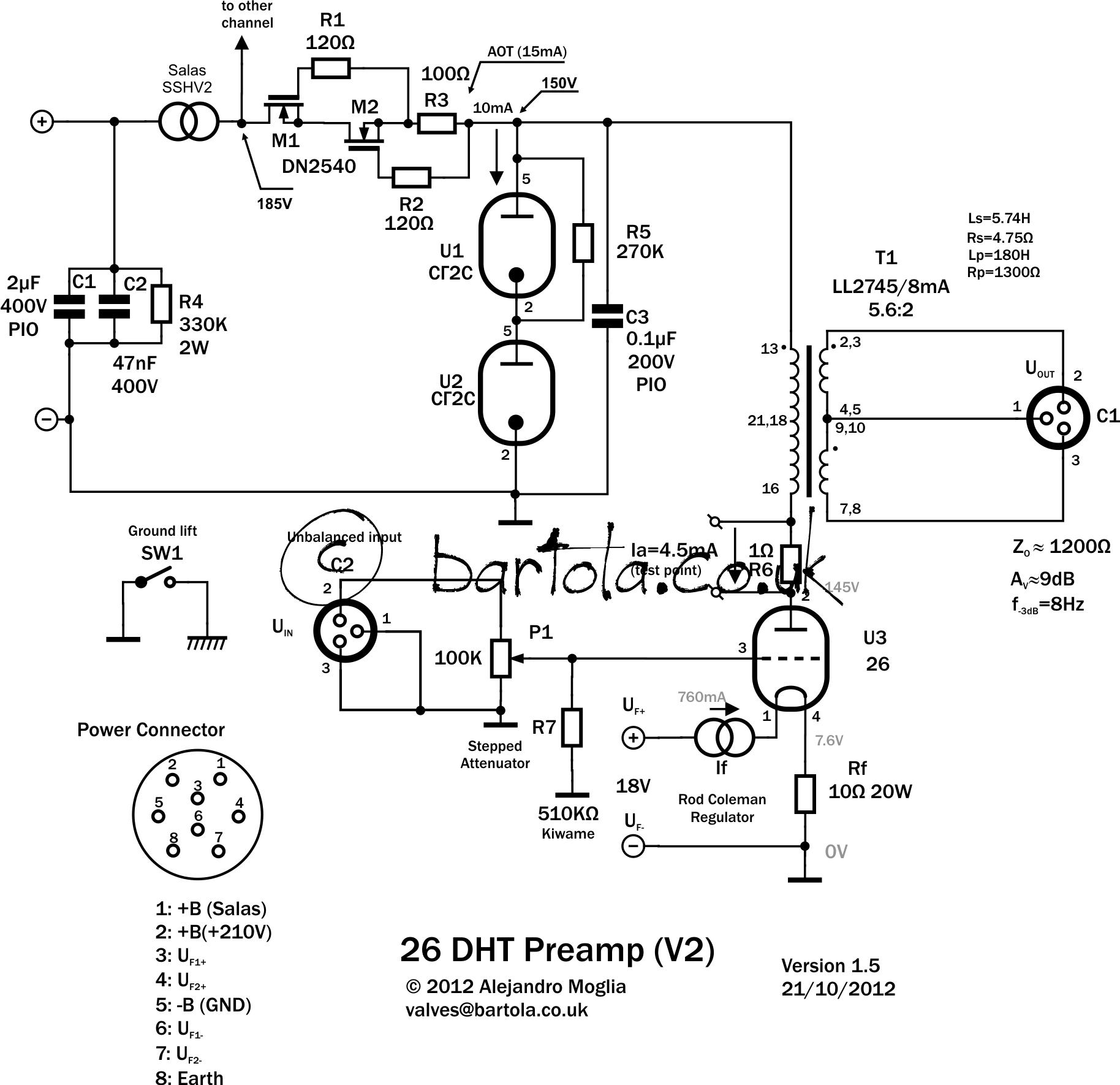 26 Dht Pre Amplifier Gen2