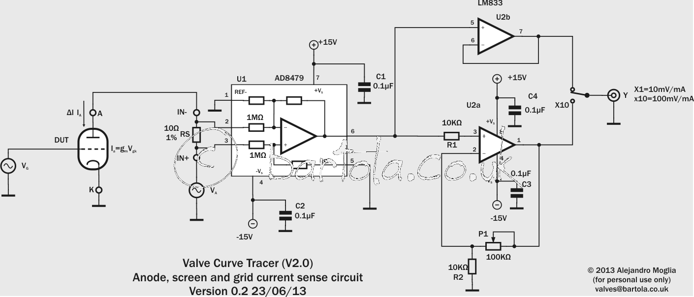 tube curve tracer