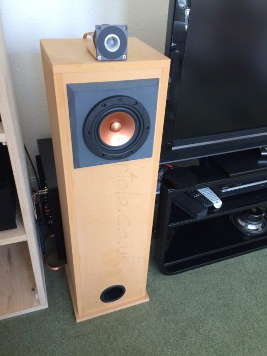 Altair 10M Gen3 with FT96H horn tweeter