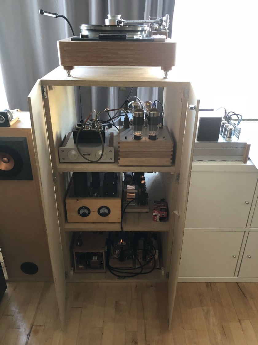 Bartola Valves All About Electronic And Hi Fi Pushpull 45 Tube Amplifiers Blog This Year I Entered The Shootout Competition Will Bring My Dht System To European Triode Festival In France Its Comprised Of Er801a Stage Plus