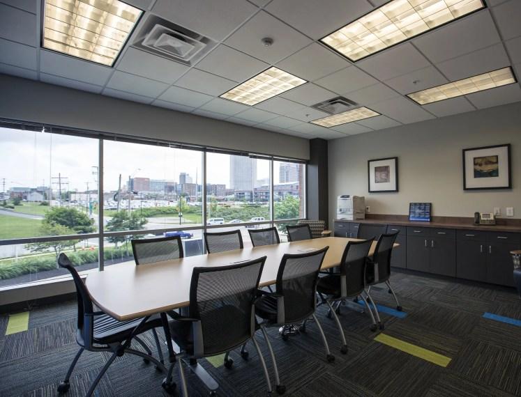 Barton Malow Columbus, Ohio office interior
