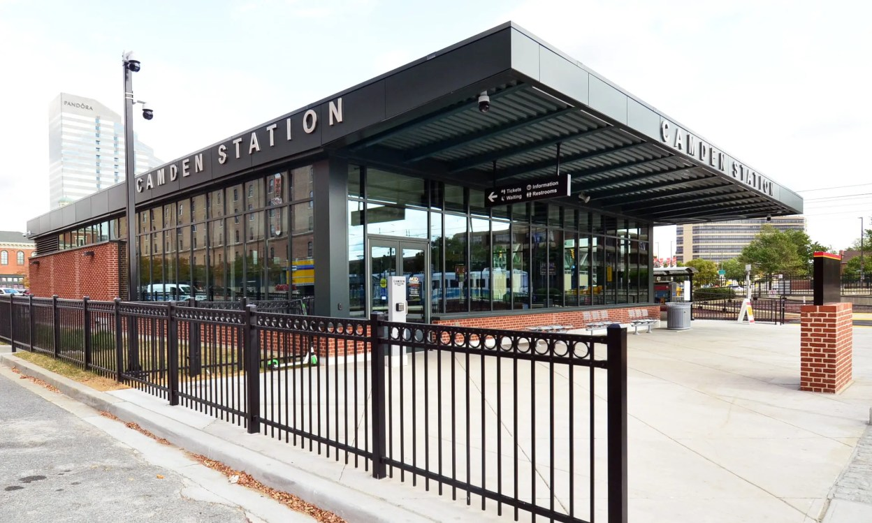 Camden Station Exterior