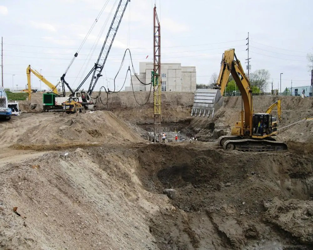 Fort Wayne WWTP Excavation