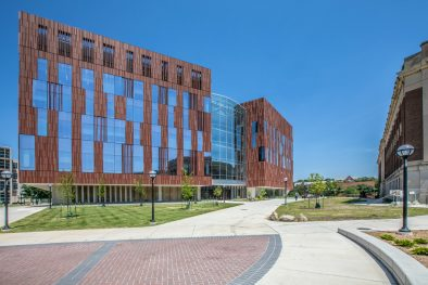 University of Michigan Biological Science Building Exterior