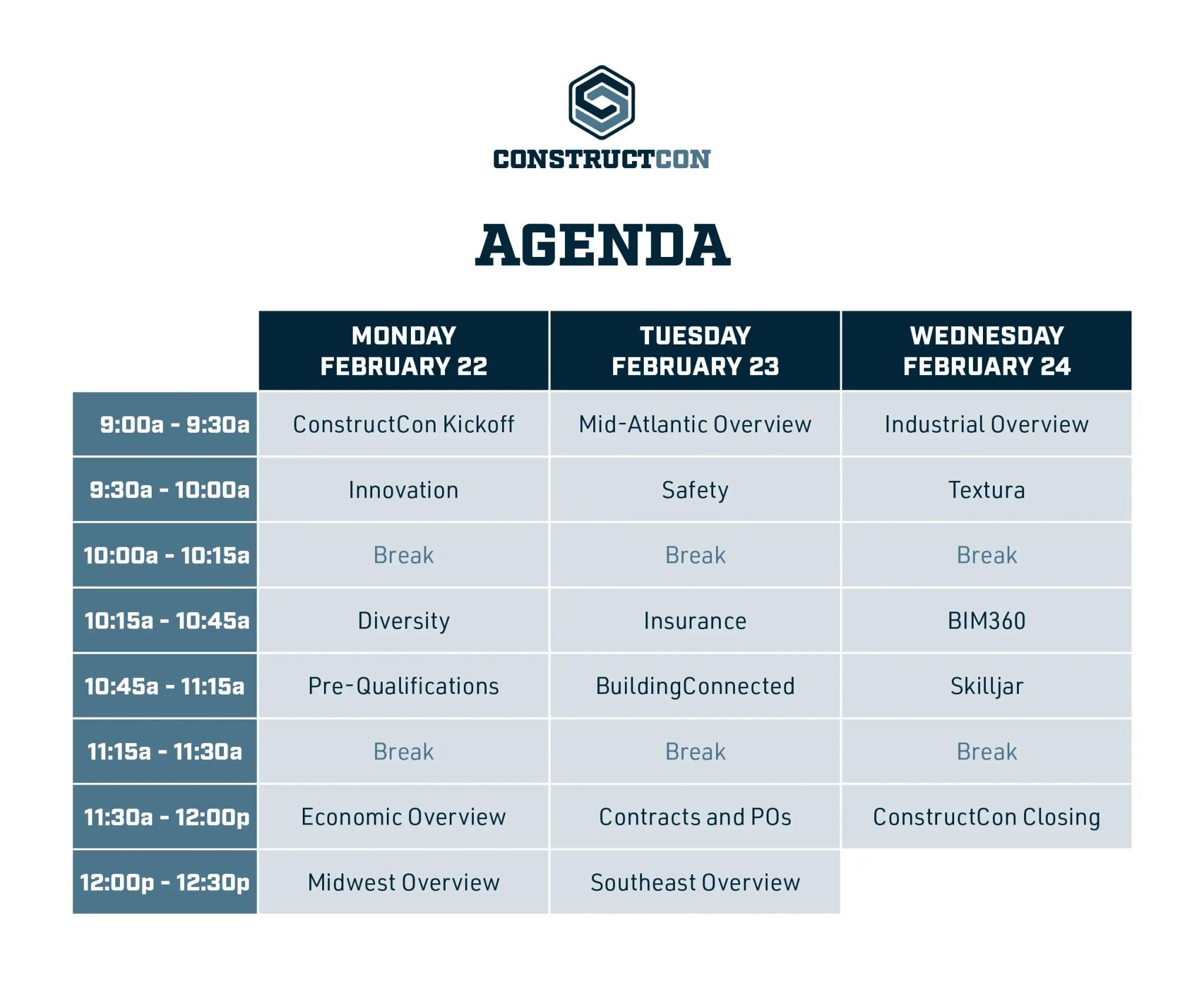 ConstructCon_schedule