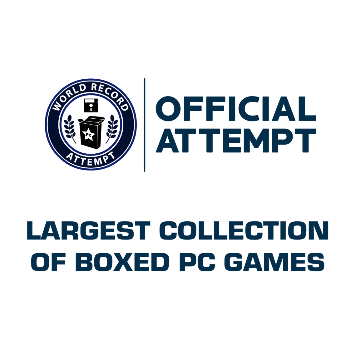 WORLD'S LARGEST COLLECTION OF BOXED PC GAMES - WORLD RECORD ATTEMPT