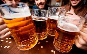 cerveza juego beber