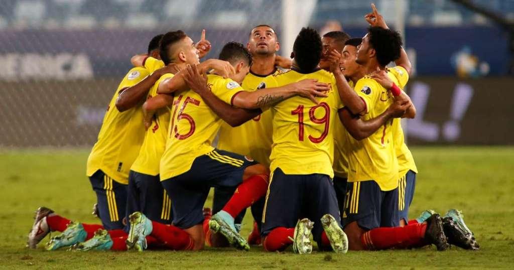 Kolombia vs Ekuador