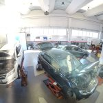Vista officina Baruffi Car Service Caravaggio