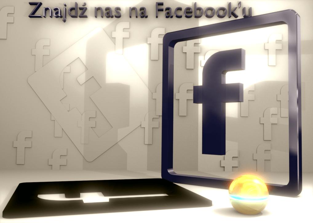 znajdzź nas na facebooku