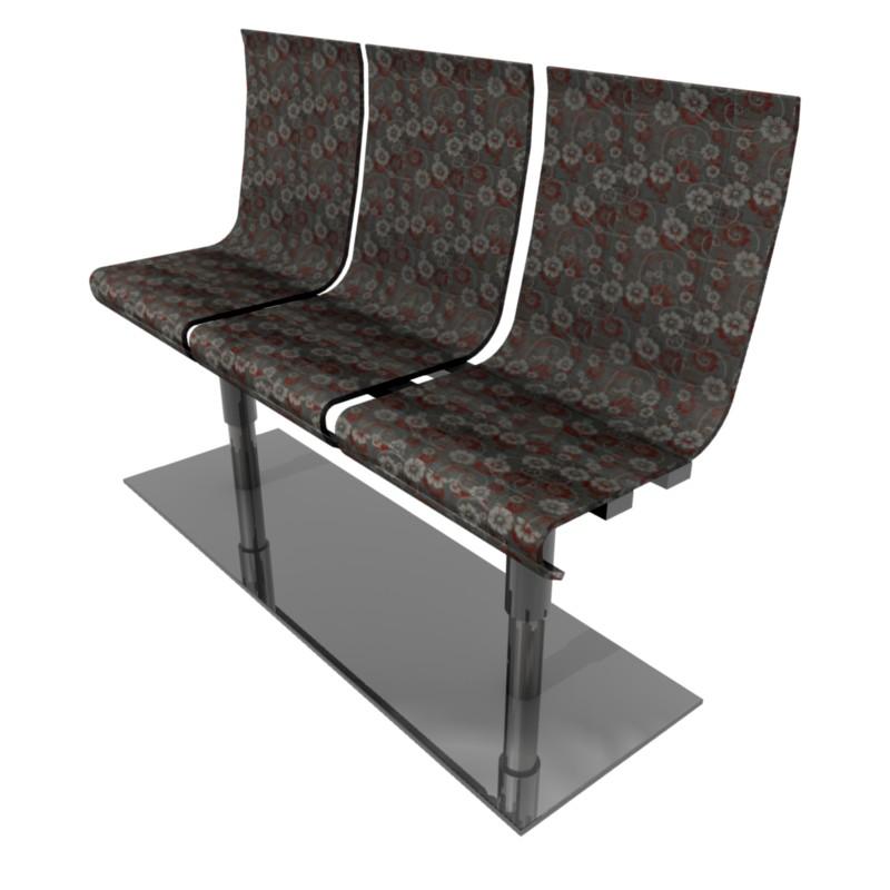 krzesła do poczekalni - projekt