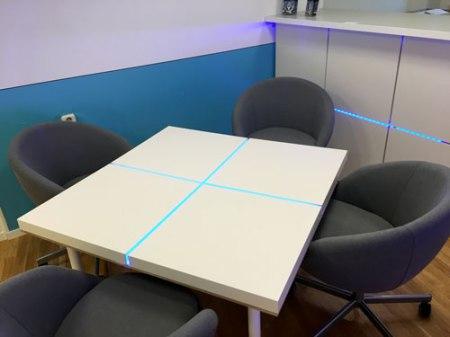 Kreatywny stolik