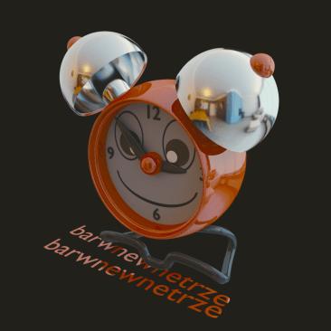 projekt budzika zegarka dla dziecka