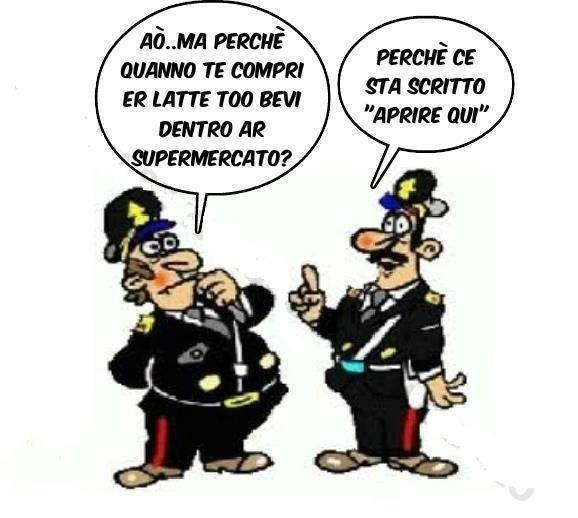 Foto Divertente: Barzelletta sui carabinieri