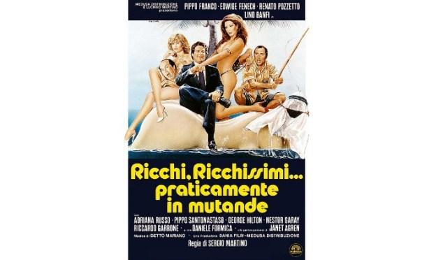 Lino Banfi, Pippo Franco e Renato Pozzetto - Ricchi ricchissimi praticamente in mutande - Film completo